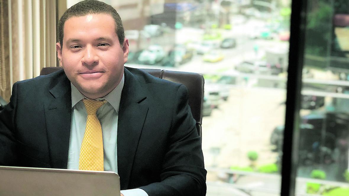 Jaime Barrios Pérez, gerente de Gestech.