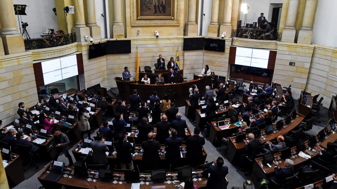 Aún falta que se debata en la plenaria de la Cámara y en la de Senado la aprobación final del presupuesto.