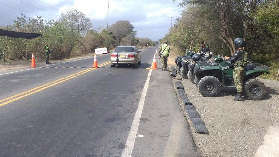 Ejército hace presencia en Carraipía en Maicao.