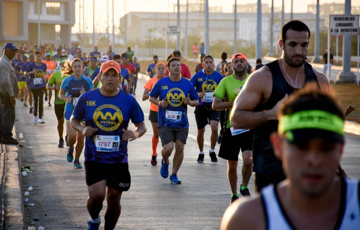 Postales de la Media Maratón de Barranquilla.