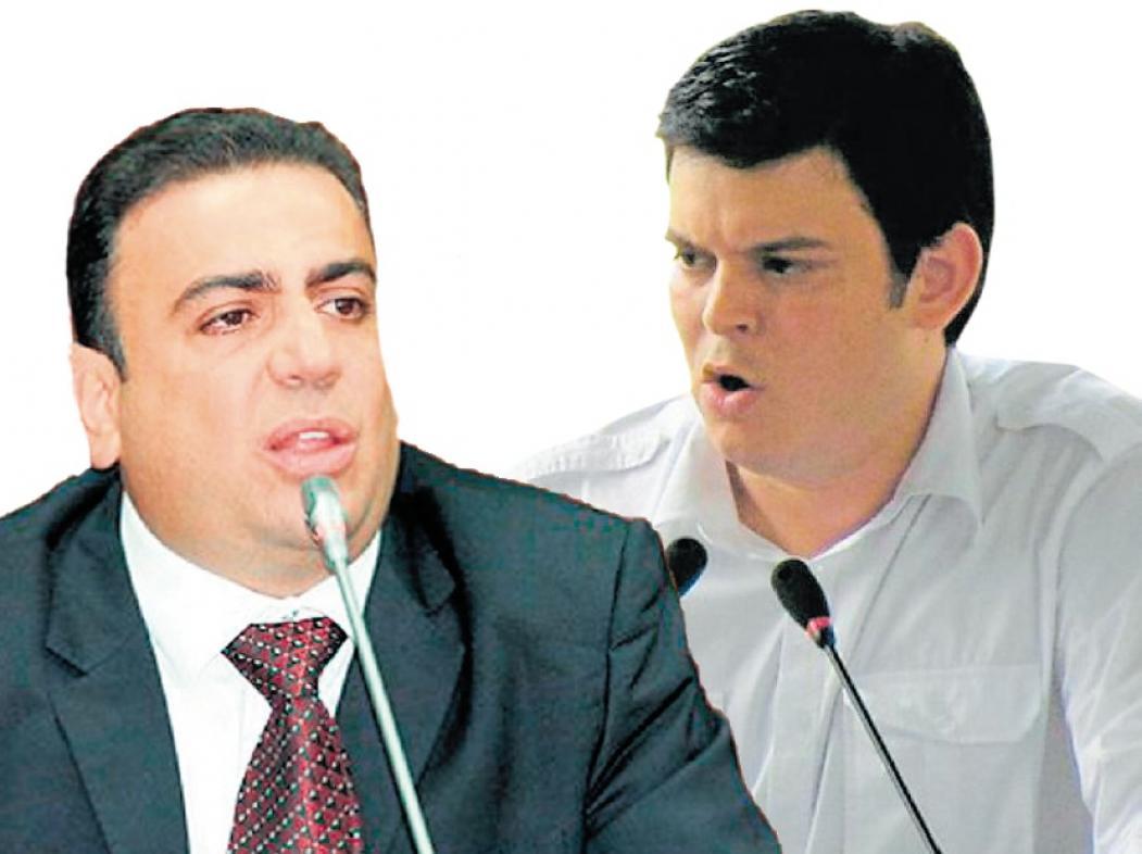 Musa Besaile y Alejandro Lyons.