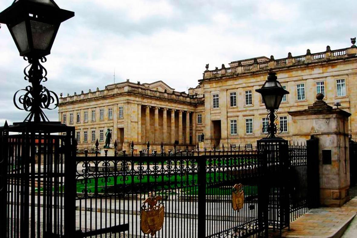 Casa de Nariño, sede de gobierno del próximo presidente de la República.
