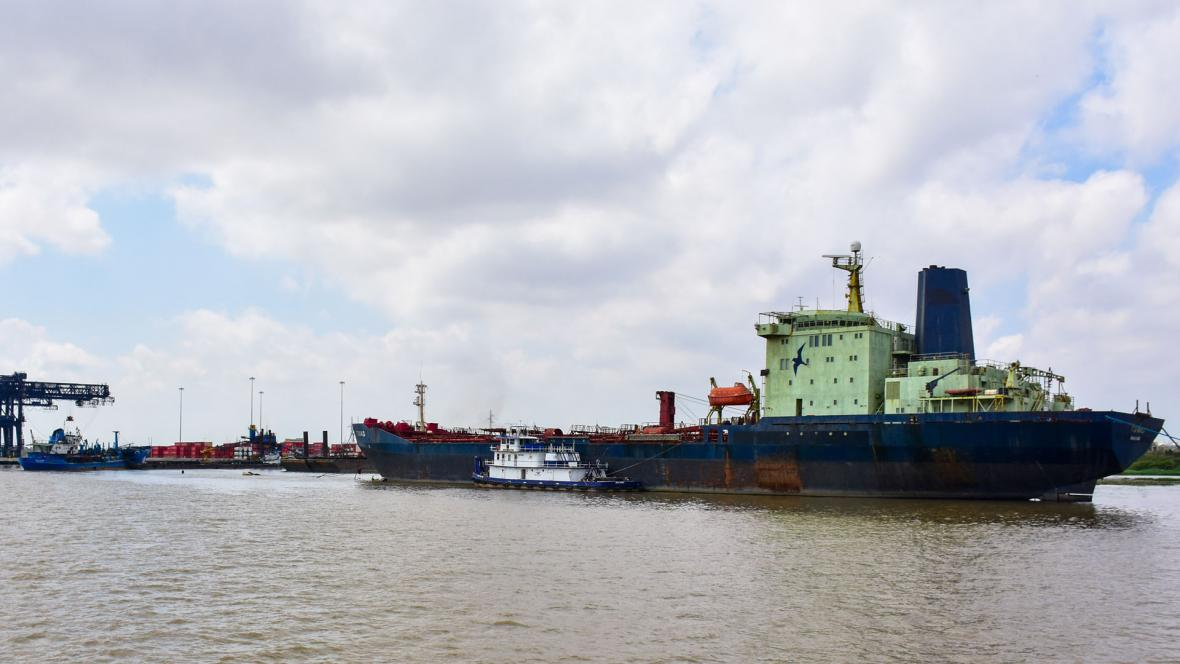 Actualmente el calado autorizado en el canal de acceso al Puerto de Barranquilla es de 8,3 metros.