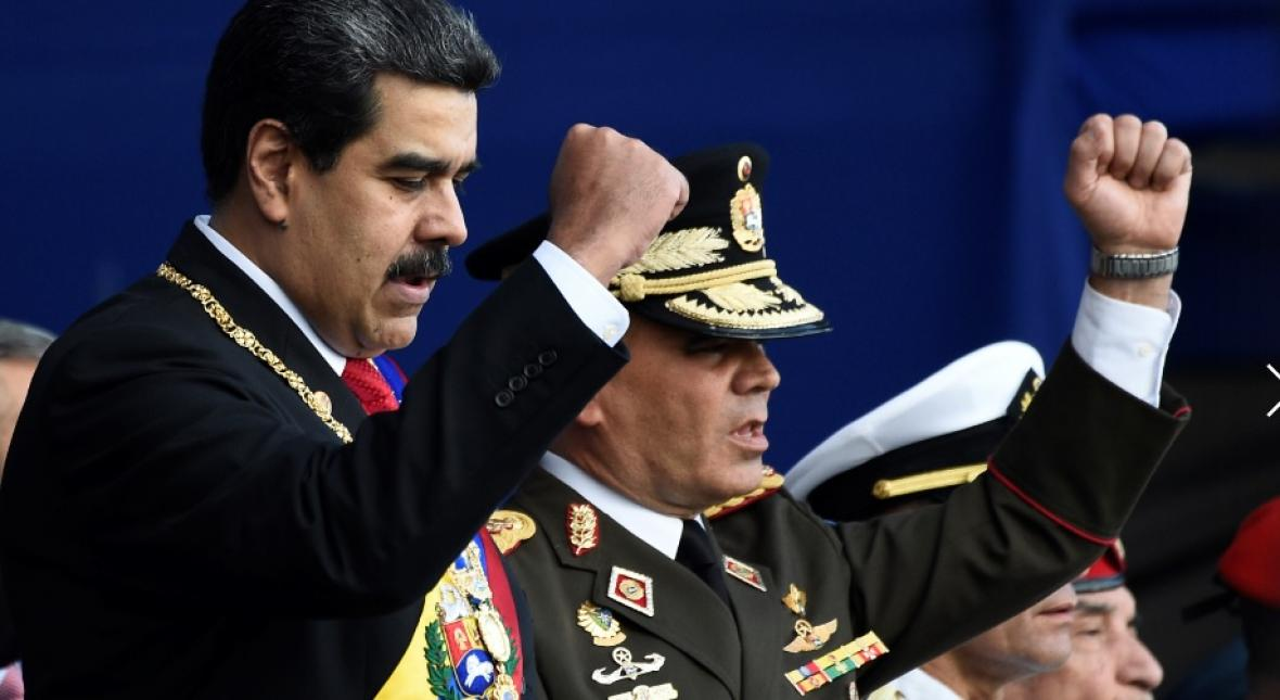 Nicolás Maduro el día de su posesión.