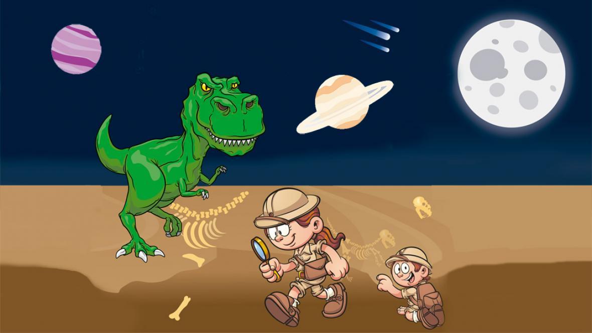 Una misión para hablar de Dinosaurios