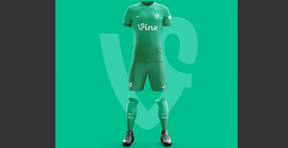 En imágenes  Así serían los uniformes de fútbol de las apps más ... d6b517d7285
