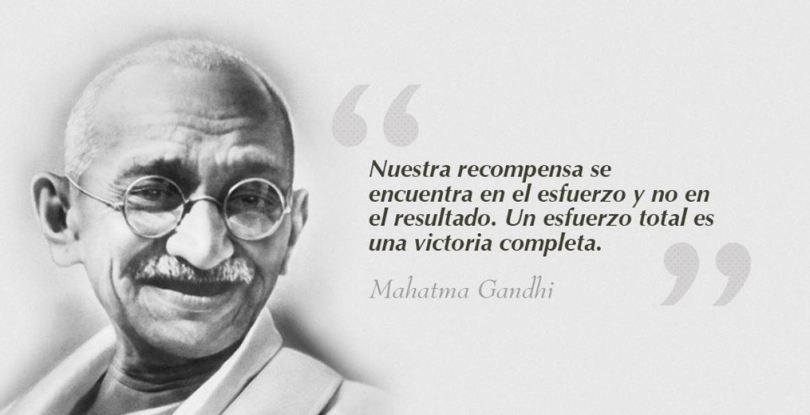 Cinco Frases Que Te Harán Recordar La Grandeza De Mahatma