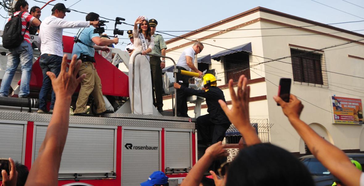 Image result for bienvenida de paulina vega a Barranquilla