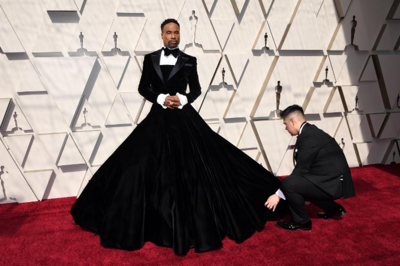 06e044d474 Oscar 2019  El actor que lució falda y otras tendencias en la ...