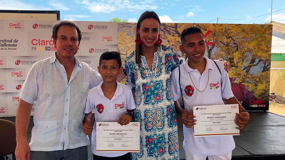 6f76b1cb5 Santiago Pardo y María Consuelo Castro de Claro por Colombia