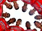 Algunos jugadores de la selección Atlántico sub-17.