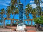 Monumento ubicado en la Calle Primera de Riohacha.