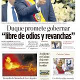 """Duque promete gobernar """"libre de odios y revanchas"""""""