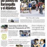 Cero quemados por pólvora en Barranquilla y el Atlántico