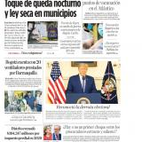"""""""Toque de queda nocturno y ley seca en municipios"""""""