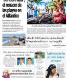 'Bandera azul', el renacer de las playas en el Atlántico