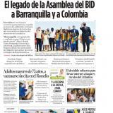 El legado de la Asamblea del BID a Barranquilla y Colombia