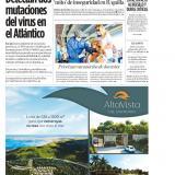 Detectan dos mutaciones del virus en el Atlántico