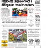 Presidente Duque convoca a diálogo con todos los sectores