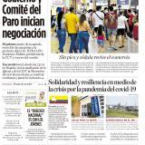 Gobierno y Comité del Paro inician negociación