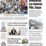 Aquí no nos amedrentan con violencia: Presidente Duque
