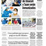 Habitantes de Usiacurí y Suan serán inmunizados