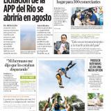 Licitación de la APP del Río se abriría en agosto