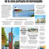 Pérdidas por USD 6 millones deja parálisis de la zona portuaria de Barranquilla