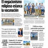 Creencia religiosa le 'pone freno' a la vacunación en Soledad