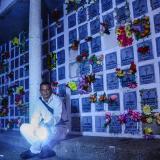 Una noche de difuntos en el Cementerio Calancala