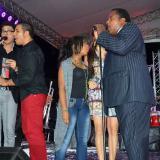 Dos generaciones cantaron a dúo en el Festival del Bolero