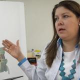 Alejandra Barrios, directora de la MOE.