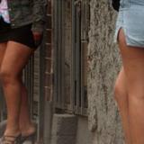 """Trabajadoras sexuales realizaron un """"tetazo"""" frente al Parlamento argentino"""