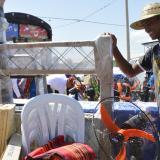 Gobernación del Atlántico entregó elementos para el hogar en la urbanización Villa Carolina de Repelón