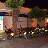 La Policía estuvo hasta altas horas de la noche en la sede de del banco de Bogotá ubicada en la carrera octava con calle 16A en el centro de Valledupar, investigango sobre el robo ocurrido en la tarde perpetrado por hombres que huyeron a pie.
