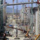 Obras de ampliación del Canal de Panamá.