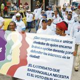 En las pasadas elecciones locales, en Barranquilla se promovió el voto en blanco.