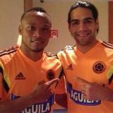Falcao y Zúñiga se unieron a Colombia