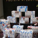 Capturan a sujeto con 6 millones de cigarrillos de contrabando