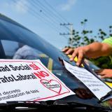 Gremio de taxistas le dice no al contrato laboral
