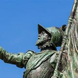 Monumento a Vasco Núñez de Balboa en Panamá.