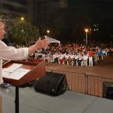 En Santa Marta, el presidente Juan Manuel Santos condenó la acción terrorista registrada en Tumaco, Nariño.
