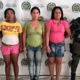 Gaula del Atlántico captura a tres mujeres por extorsión