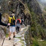 Finalizan labores de mantenimiento en el Camino Inca a Machu Picchu