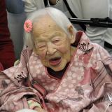 Fallece la persona más vieja del mundo, una japonesa de 117 años