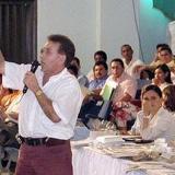 """""""A mí me van a matar, señor presidente"""", le dijo Díaz al exmandatario Álvaro Uribe en un consejo comunitario el 1o. de febrero de 2003."""
