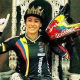 ¡Venias para Mariana! Gana oro en la contrarreloj individual de la Copa Mundo BMX