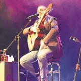 Felipe Peláez, en recital acústico en Barranquilla