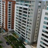 Edificios de apartamentos ubicados en el sector de Buenavista, en el norte de Barranquilla.