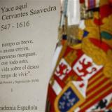 España entierra a Miguel de Cervantes 400 años después